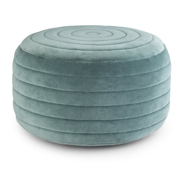 Coker Round Pouf by World Menagerie