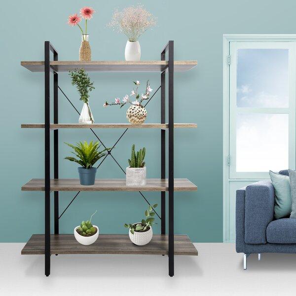 Araiza 4-Tier Display Wall Shelf Etagere Bookcase By Gracie Oaks