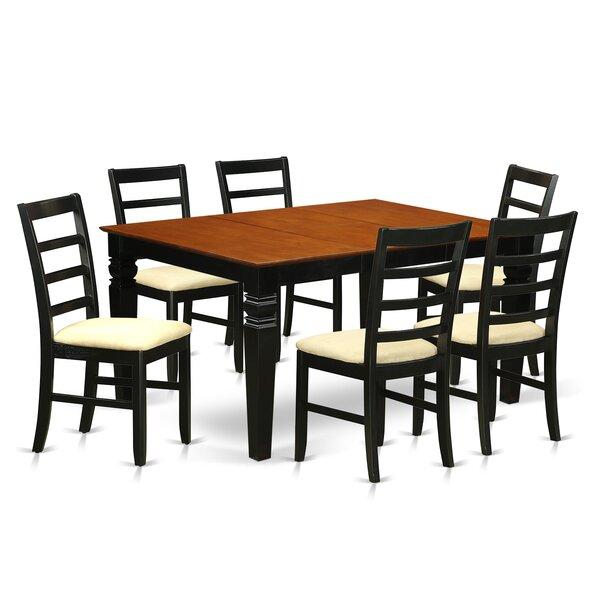 Chandler 7 Piece Dining Set by Red Barrel Studio