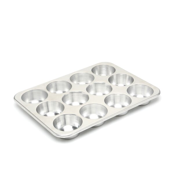 Natural Commercial 12 Cup Muffin Pan by Nordic Ware