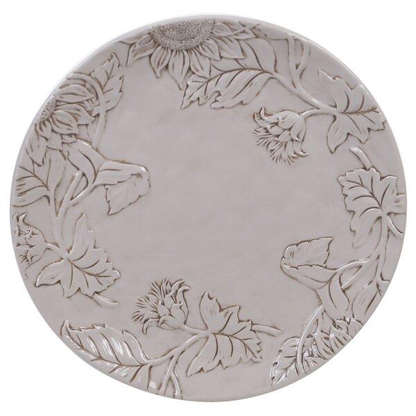 Winkler Rooster Embossed Platter by August Grove