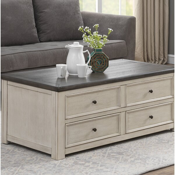 Bernard Lift Top Coffee Table with Storage by Ophelia & Co.