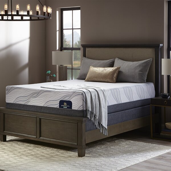 Perfect Sleeper 14 Plush Hybrid Mattress and Box Spring by Serta