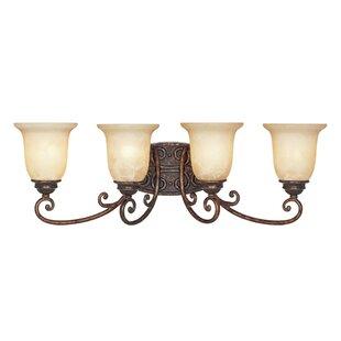 Inexpensive Claverack 4-Light Vanity Light By Fleur De Lis Living