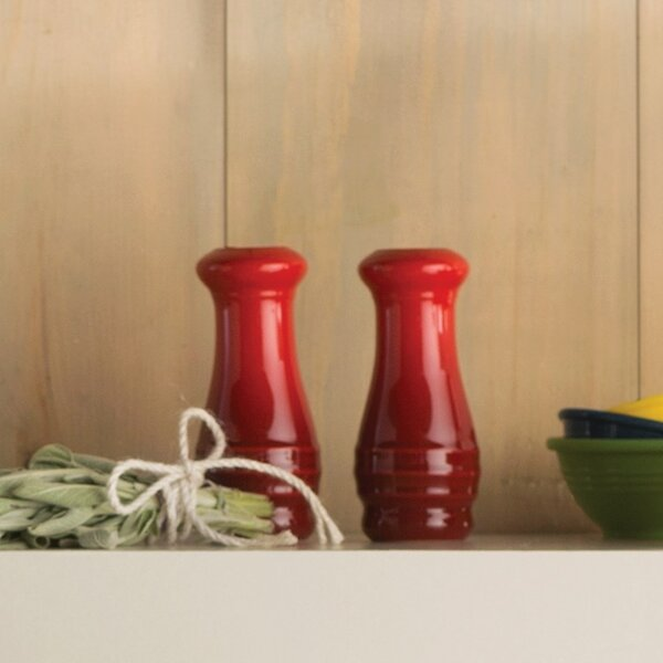 Stoneware 2-Piece Salt and Pepper Set by Le Creuset