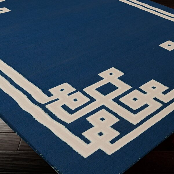 Alameda Sapphire Blue Area Rug by Beth Lacefield