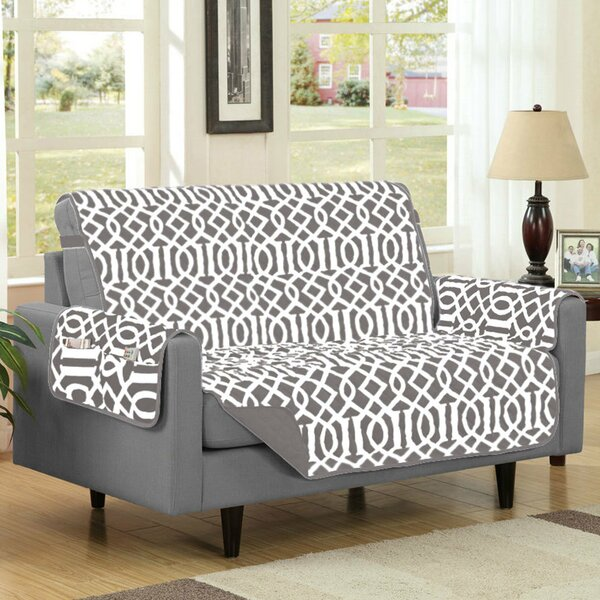 Box Cushion Loveseat Slipcover By Winston Porter Discount