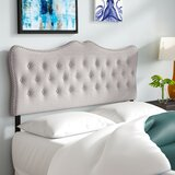 Hoytville Upholstered Panel Headboard by Charlton Home®
