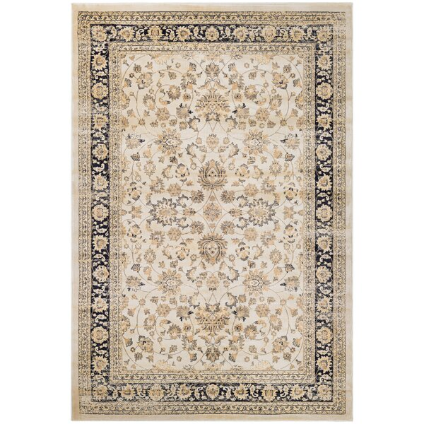 Cotaco Beige/Brown Area Rug by Fleur De Lis Living