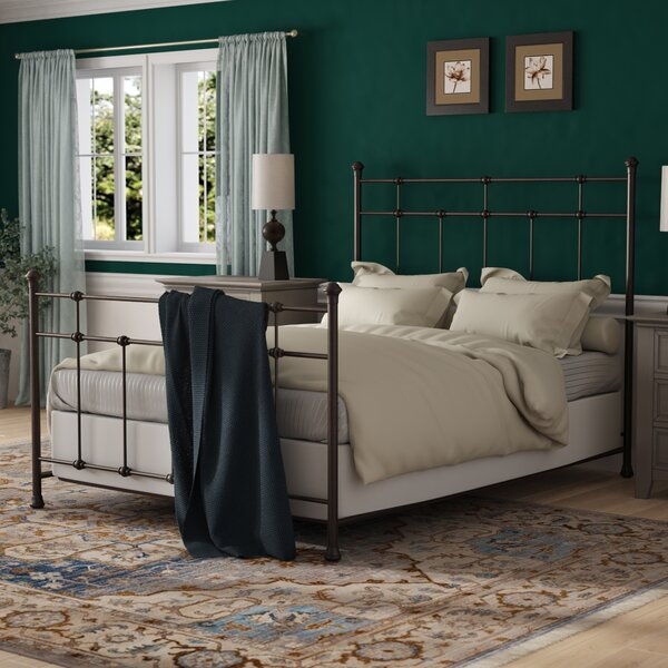 Leavitt Panel Bed by Alcott Hill