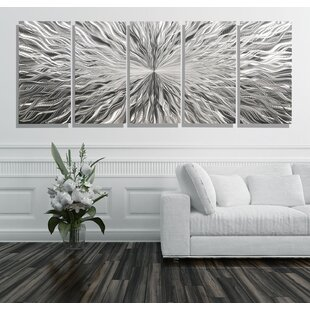 5 Piece 'Vortex' Wall Décor Set By Orren Ellis