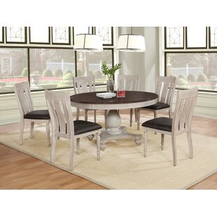 Find the perfect Mixon 7 Piece Dining Set by August Grove