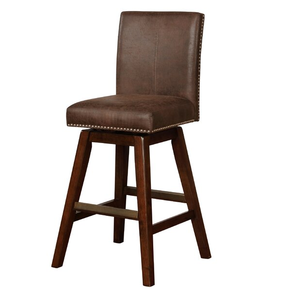 Chromite 30.75 Swivel Bar Stool by Loon Peak