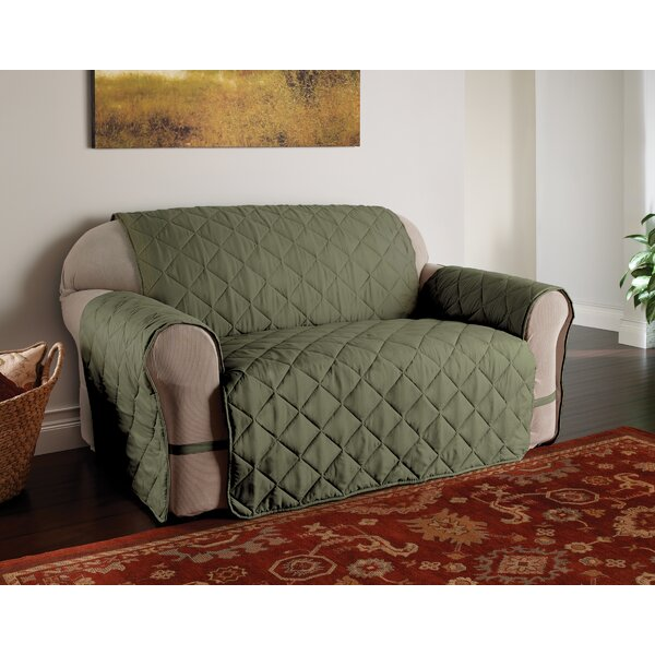 Microfiber Solid Ultimate Protector T-Cushion Slipcover by Innovative Textile Solutions