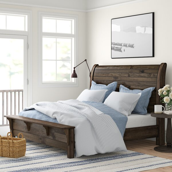 Teignmouth Sleigh Bed by Three Posts