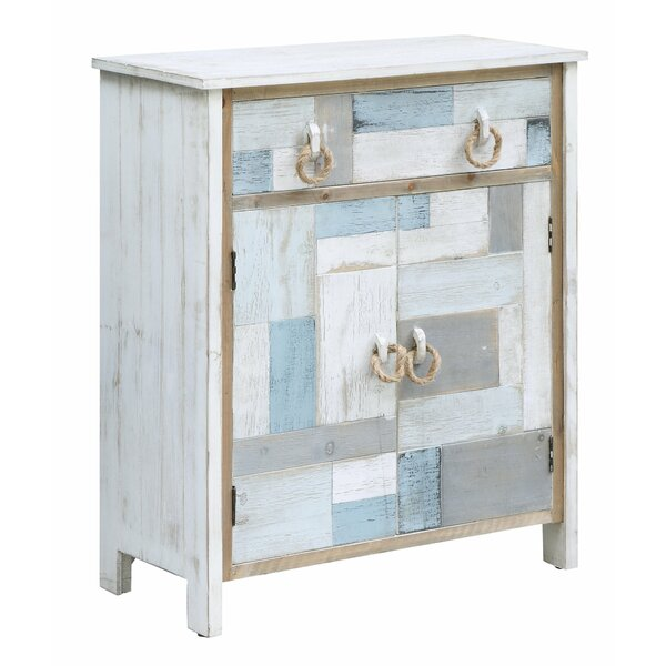 Harrod South Shore Nautical 1 Drawer Accent Cabinet by Highland Dunes Highland Dunes