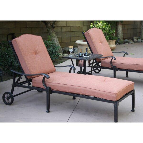 Fairmont Reclining Chaise Lounge Set