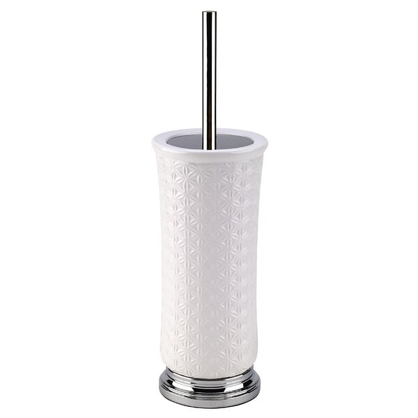 Rise Ceramic Toilet Brush and Holder by Popular BathRise Ceramic Toilet Brush and Holder by Popular Bath