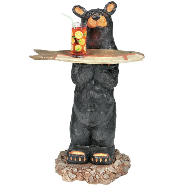 Ean Bear Waiter Table by Millwood Pines