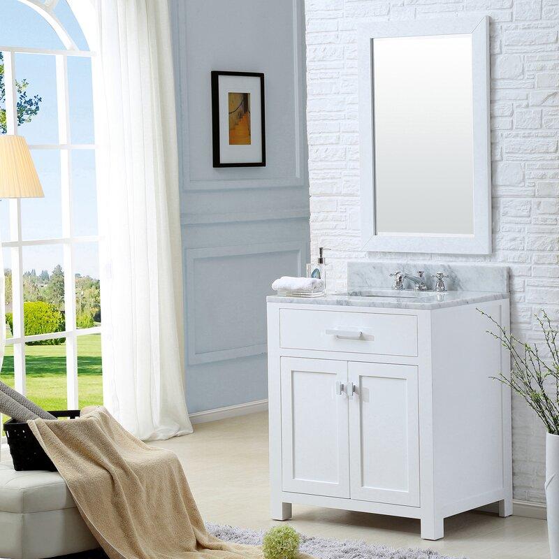 """Bathroom Vanity Sets darby home co fran 30"""" single bathroom vanity set & reviews   wayfair"""