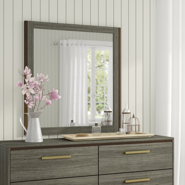 Adam Rectangular Dresser Mirror by Laurel Foundry Modern Farmhouse