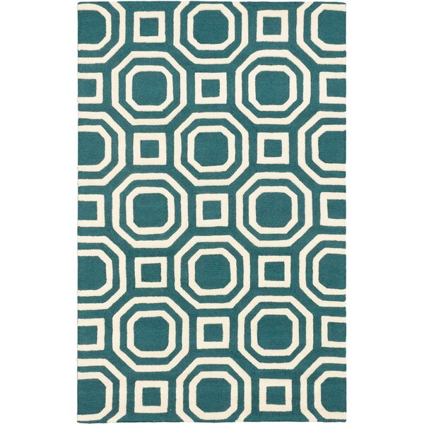 Griffing Casual Hand Tufted Cream Area Rug by Ivy Bronx