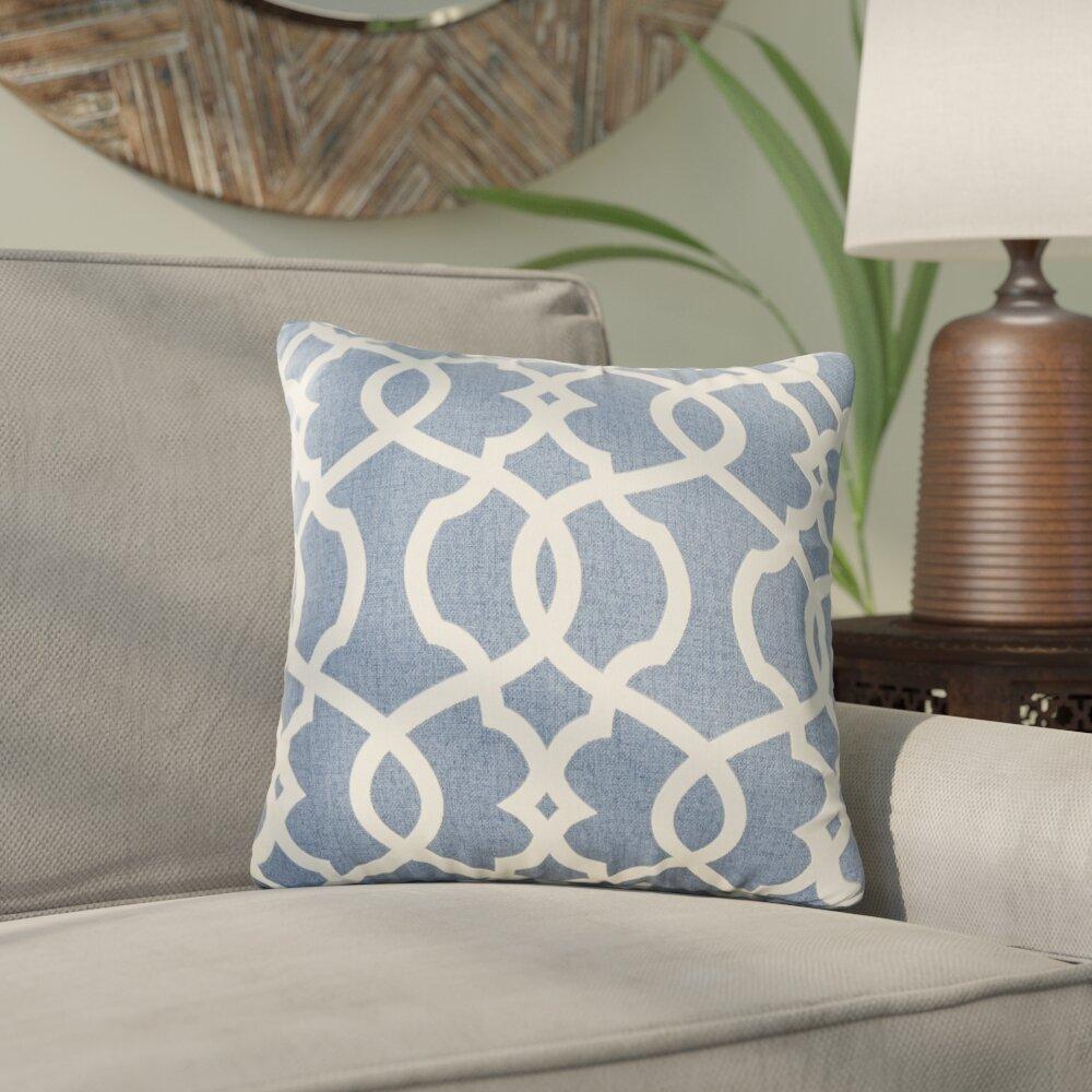 mistana brennan damask throw pillow & reviews   wayfair What Is a Throw Pillow