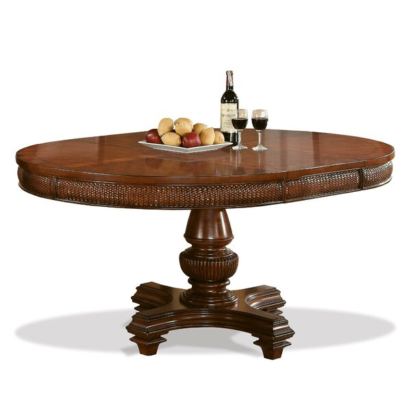 Leander Extendable Dining Table by World Menagerie