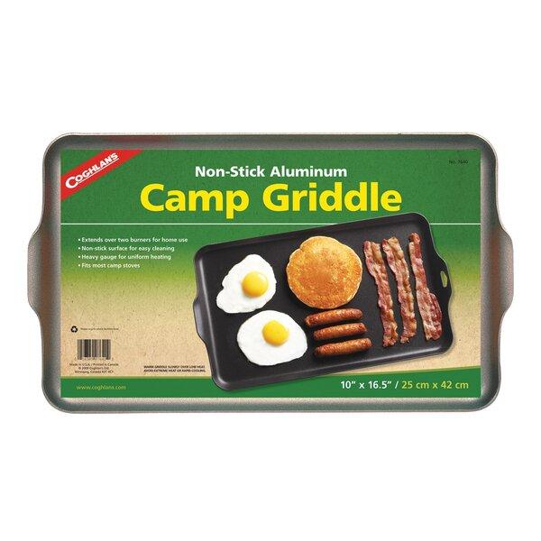 Non-Stick Aluminum Camp Griddle by Coghlans