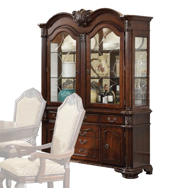 Shields China Cabinet by Astoria Grand