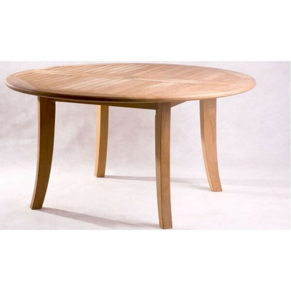 Kamron Teak Dining Table by Rosecliff Heights