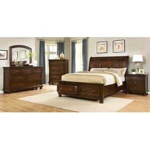 Panel 5 Piece Bedroom Set by BestMasterFurniture