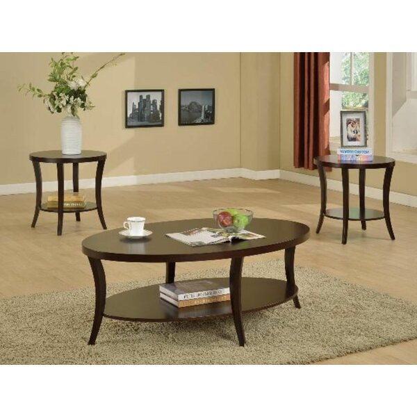 Jayme 3 Piece Coffee Table Set by Red Barrel Studio Red Barrel Studio