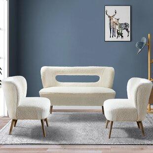 Aythen 3 Piece Living Room Set by George Oliver