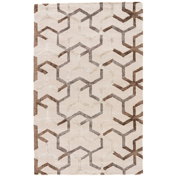 Villafane Ivory/Gray Area Rug by George Oliver