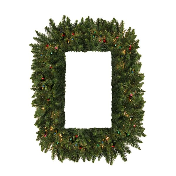 36 Lighted Artificial Camdon Fir Christmas Wreath by Vickerman