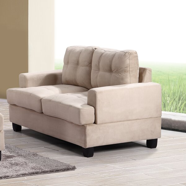 Lowest Price For Schuck Loveseat by Winston Porter by Winston Porter