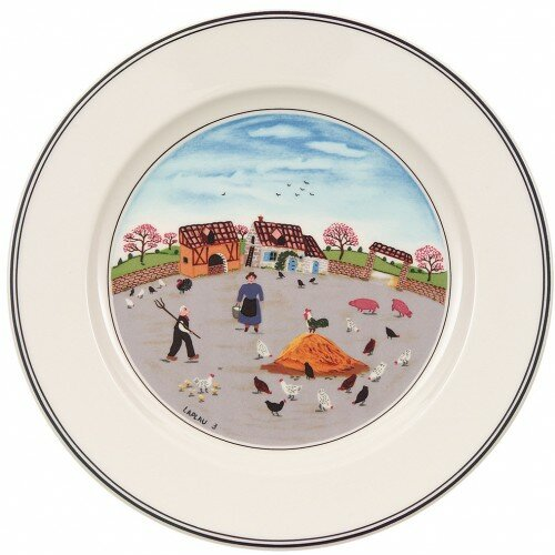 Design Naif 8.25 Country Yard Salad Plate by Villeroy & Boch