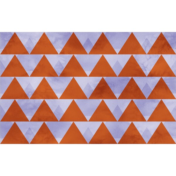 Triangles Multi Rug by Manual Woodworkers & Weavers