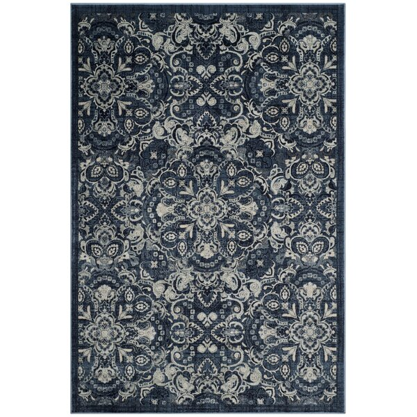 Camile Garden Blue Area Rug  by Darby Home Co