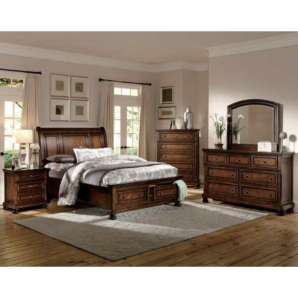 Seville Platform Configurable Bedroom Set by Three Posts