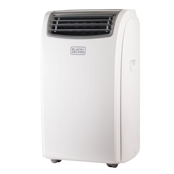 12,000 BTU Energy Star Portable Air Conditioner with Remote by Black + Decker