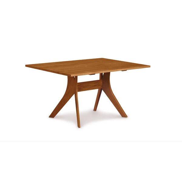 Audrey Walnut Solid Wood Dining Table by Copeland Furniture Copeland Furniture