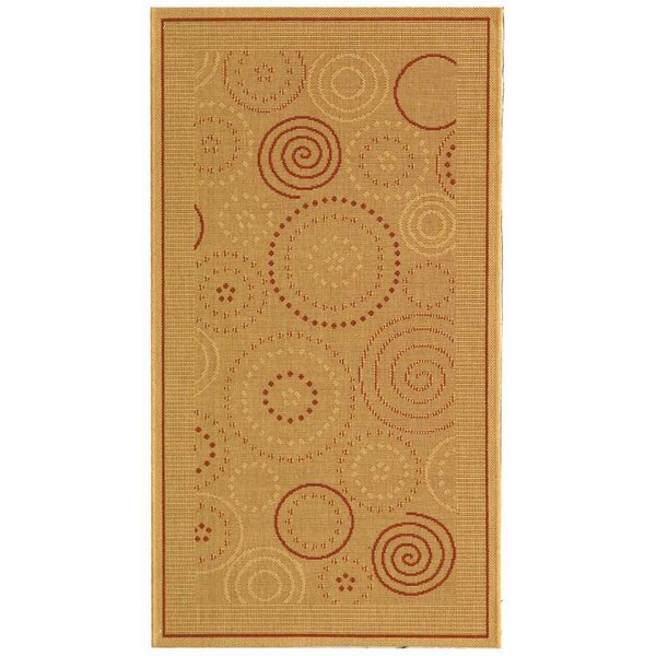Mullen Transitional Circles Indoor/Outdoor Area Rug by Ebern Designs