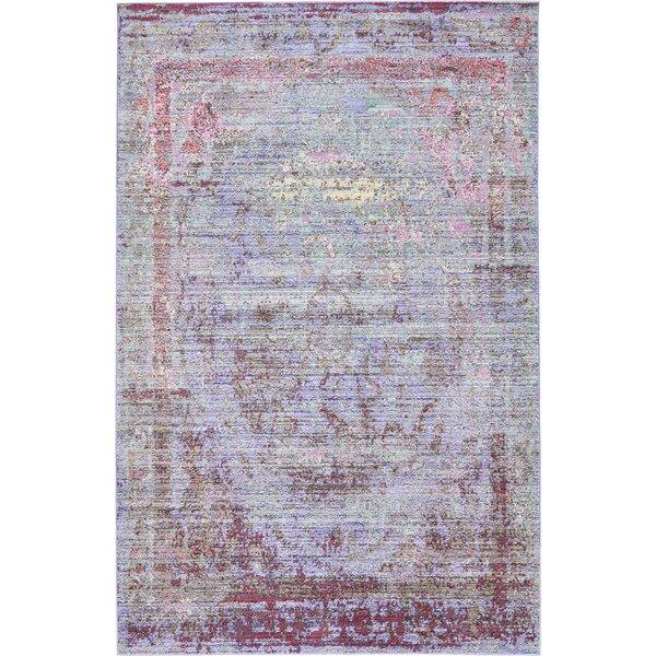 Bradford Violet Area Rug by Mistana