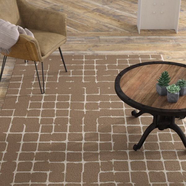 Byers Taupe Area Rug by Williston Forge