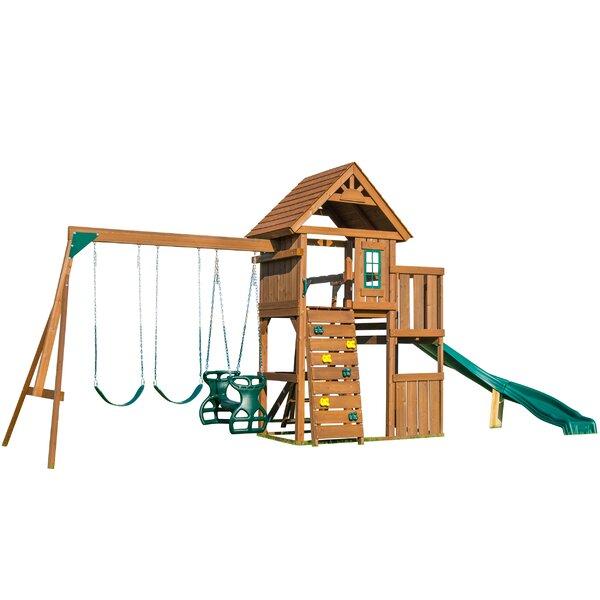 Cedar Brook Swing Set by Swing-n-Slide