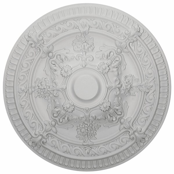 Vincent 26H x 26W x 3D Ceiling Medallion by Ekena Millwork