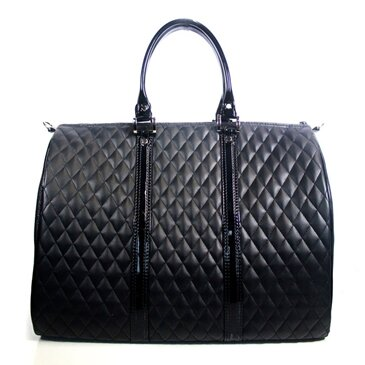 JL Duffel Quilted Luxe Pet Carier by Petote