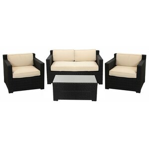 4 piece outdoor patio furniture set with cushions - Cheap Patio Furniture Sets